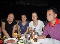 中国の先生達とディスカッション